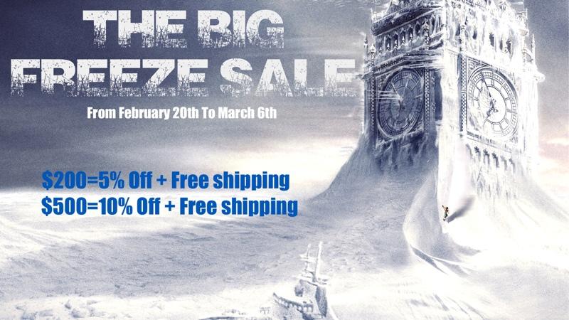 Big Freeze Sale